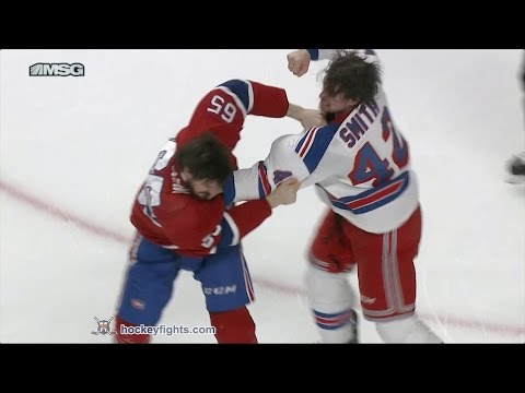 Andrew Shaw vs. Brendan Smith