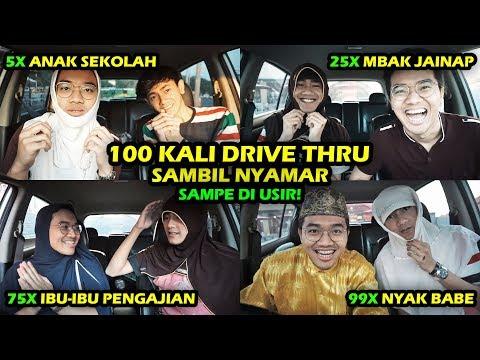 100 KALI Muter DRIVE THRU di KFC YANG SAMA! SAMPE DI USIR!