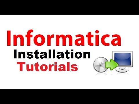 #Informatica #Installation Tutorials for Windows 7 and 8 || Part 1