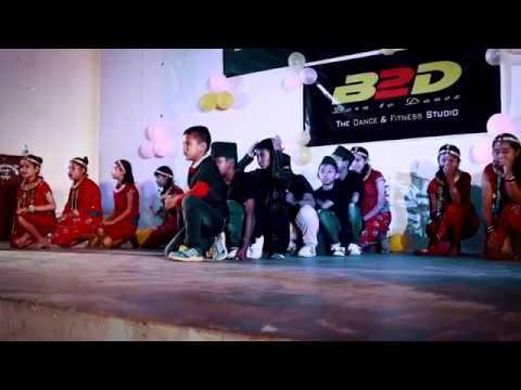 B2D Students Talent Show 2018   Welcome Dance   Maina Raja Maina Rani   B2D Lamjung