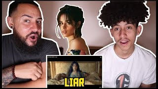 Camila Cabello   Liar   REACTION