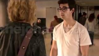 jonas L A, Joe Jonas Chelsea Staub KISSING Video
