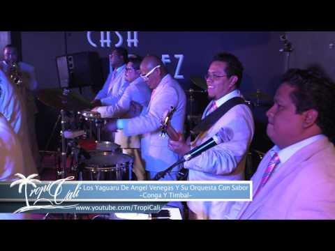 Conga Y Timbal-Los Yaguaru de Angel Venegas Y Su Orquesta Con Sabor