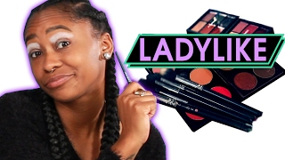 Women Try Extreme Runway Makeup • Ladylike