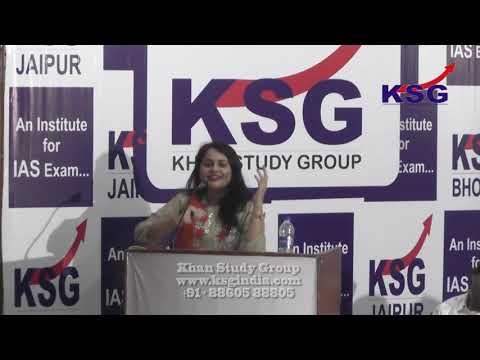 Stay Motivated Always, Tina Dabi, IAS, Jaipur, KSG India