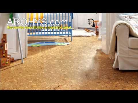 Pisos de corcho... Decoración, Elección, limpieza, ventajas & mantenimiento.