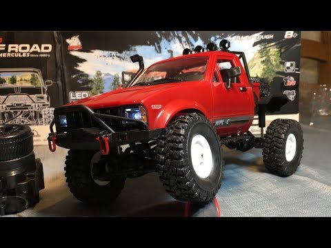WPL C14 1/16 2.4GHz 4WD RC Crawler With Headlights RTR