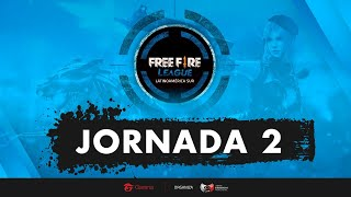 Jornada 2 | Free Fire League LAS | Mapa 1
