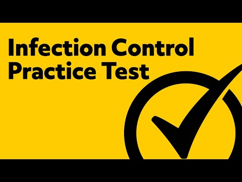 Infection Control Exam (Practice Questions) - YouTube