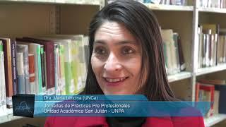 Dra. María Lencina - Jornadas de Prácticas Pre Profesionales