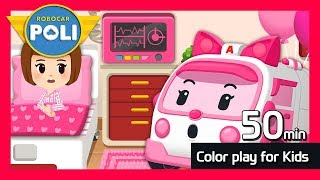 Let's Go Exciting Color Adventures With Poli - Robocar POLI TV