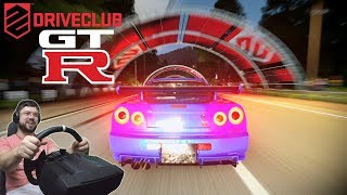 Легендарный Скайлайн принимает НЕРАВНЫЙ бой! Финал чемпионата RPM в Driveclub