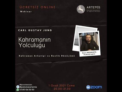 Carl Gustav Jung ve Kahraman Yolculuğu - Artemis Psikolojik Danışmanlık Online söyleşi