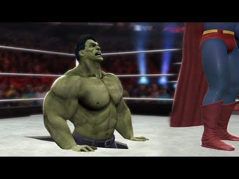 SUPERMAN VS HULK - I Quit Match