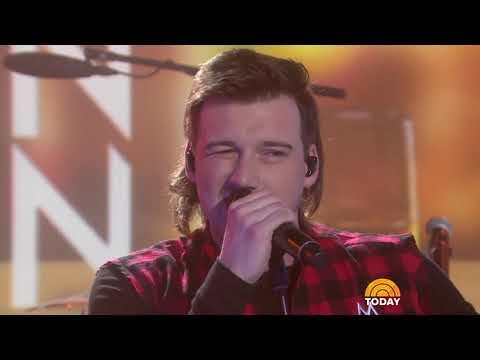 Watch Morgan Wallen sing 'Whiskey Glasses' live