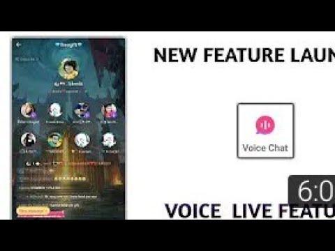 Hello app or bigo live launch new voice live feature