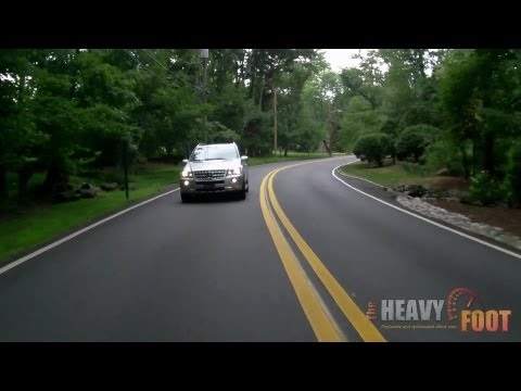 Mercedes-Benz ML550 4Matic Review - Luxury Midsize SUV