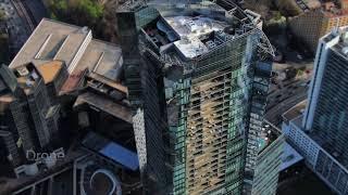 Atlanta Skyline Drone