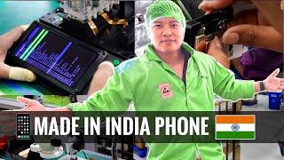 जानिए कैसे बनते है MADE IN INDIA SMARTPHONE 🇮🇳 ?? - INDIA