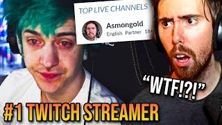 Asmongold Is Now The Most Popular Streamer On Twitch After Ninja Moved To Mixer