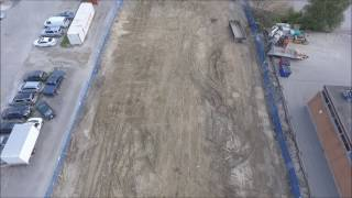 Drone Video of parking lot project - 3D Computer Model