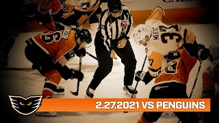 Penguins vs. Phantoms | Feb. 27, 2021