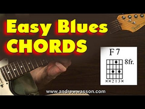 Easy Chords for Blues Guitar