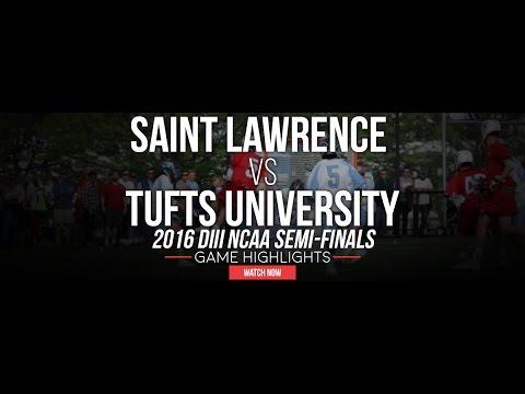 St. Lawrence vs Tufts   2016 NCAA D3 Semi-Final