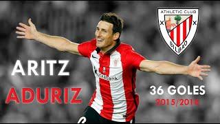 Aritz Aduriz 36 goles 2015/2016
