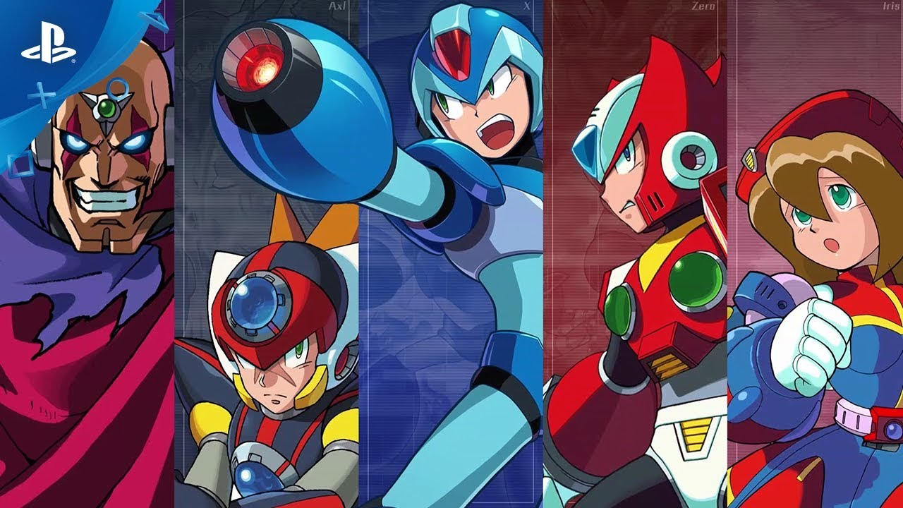 Mega Man X Legacy Collection 1 & 2 Hit PS4 July 24