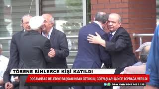 Doğanhisar Belediye Başkanı Öztoklu, toprağa verildi
