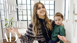 Inside Jessica Alba's $10M Beverly Hills Home | Open Door | Architectural Digest