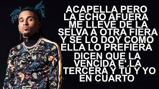Bryant Myers - Acapella (Letra) ft. El Alfa, Jon Z, Myke Towers, Almighty