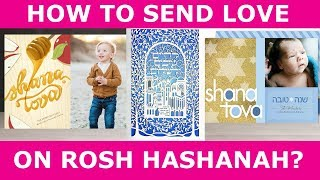 Send Love this Rosh Hashanah - Personalized Greeting Cards