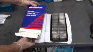 Air Filter Replacement Acura TL