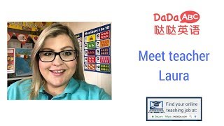 📺 Meet Online English Teacher Laura from DaDaABC 📺
