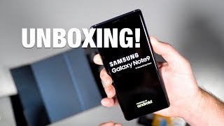 Samsung Galaxy Note9 Unboxing and Tour!