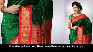 Maharastrian Dressing Style I Maharashtra Culture I poshak I पोशाख व वेशभूषा
