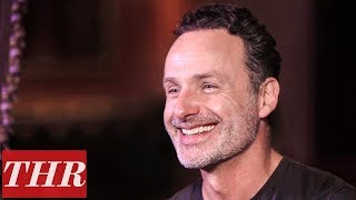 Andrew Lincolns Last The Walking Dead Scene Had Norman Reedus Tickling His Feet  | THR