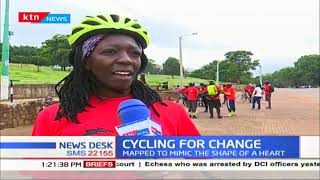 Cyclers mark Valentines in style by cycling 14 KM distance in Nairobi