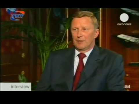 EuroNews. interview. С. Иванов 2008.08.14 23.50