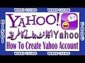 How to Create Yahoo Account in Urdu Hindi