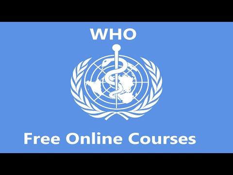 How to Apply for WHO Free Online Courses? | Free Certificates ...