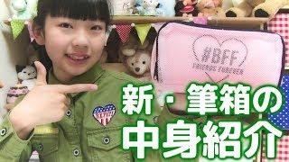 新☆中学生の準備🏫ひかりの筆箱の中身紹介!