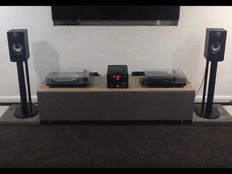 Rega Brio and Apollo with Bowers and Wilkins 607 speakers