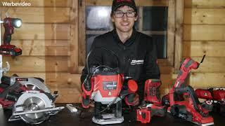Einhell gut oder schlecht? Unsere Einhell Werkzeuge für den Bau der Prepper Hütte.