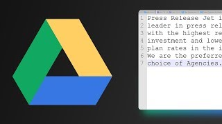 How to Edit Text Files via Google Drive