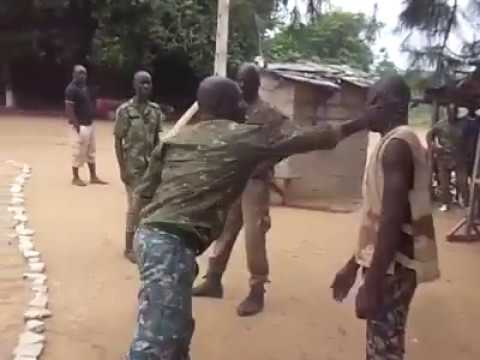 African military training 😁 funny 😂