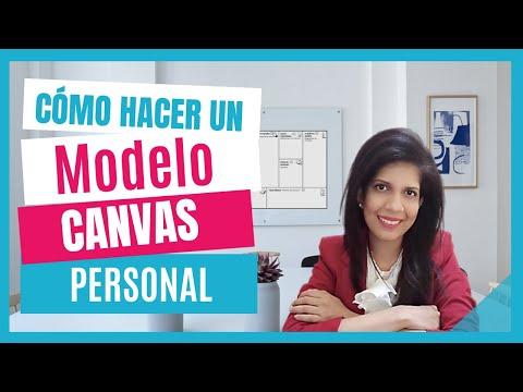 Cómo hacer un Modelo Canvas Personal