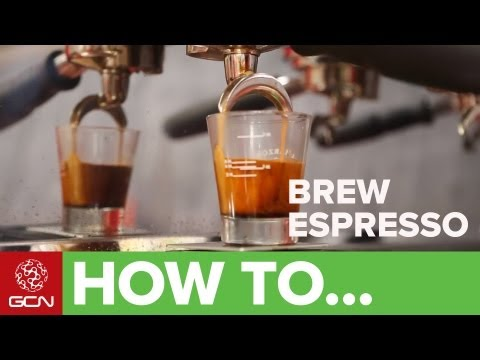 How To Make A Perfect Espresso - GCN's Food & Drink For Cycling